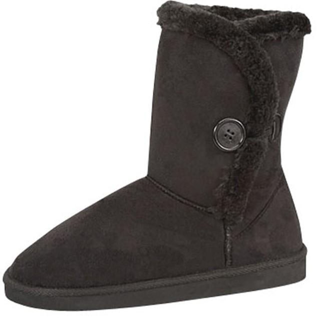Cozy Australian 1-Button Foldable Boots