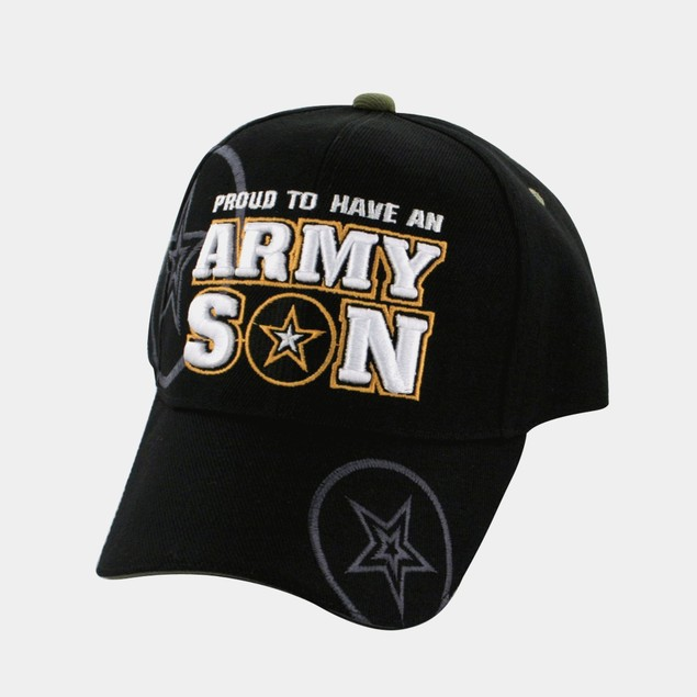 Cap - 3-D Embroidered - Army Son