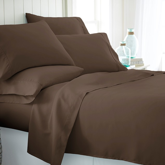 6 Piece: Becky Cameron Egyptian Comfort Sheet Set