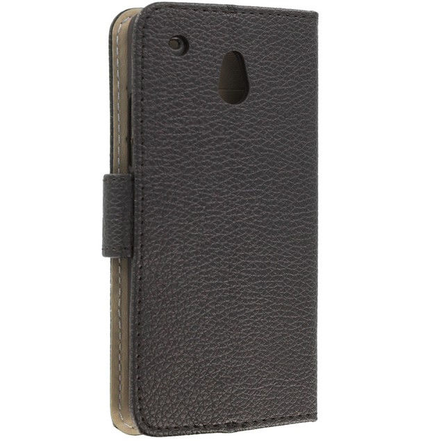 HTC One Mini M4 Wallet Pouch Case Cover with Slots