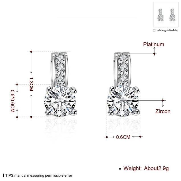 Multi-Crystal Huggie Earrings