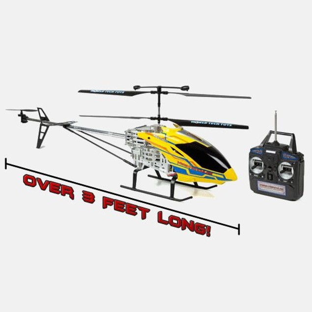 Mega Hercules SUPER TUFF 3.5CH RC Helicopter
