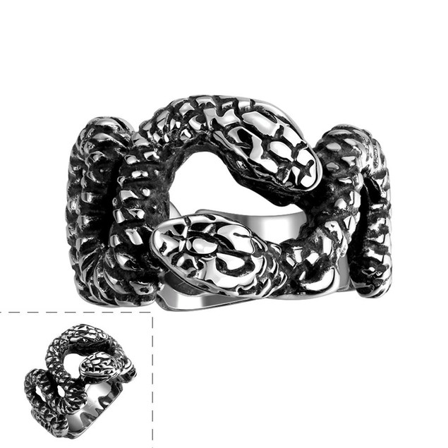 Python's Stainless Steel Ring