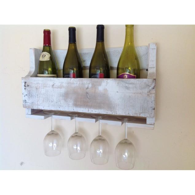 Little Elm Wine & Glass Rack