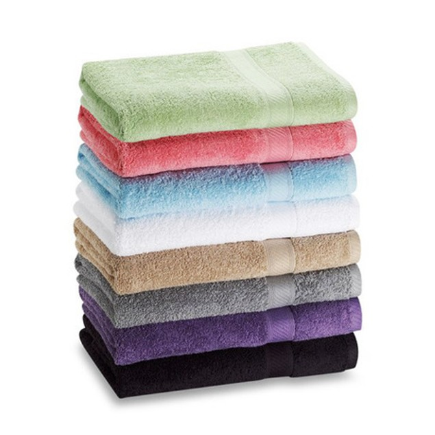 7 Pack 27'' X 52'' 100% Cotton Extra- Absorbent Bath Towels