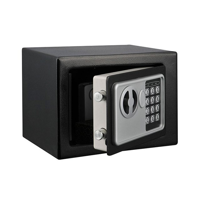 Stalwart Electronic Deluxe Digital Steel Safe - Black
