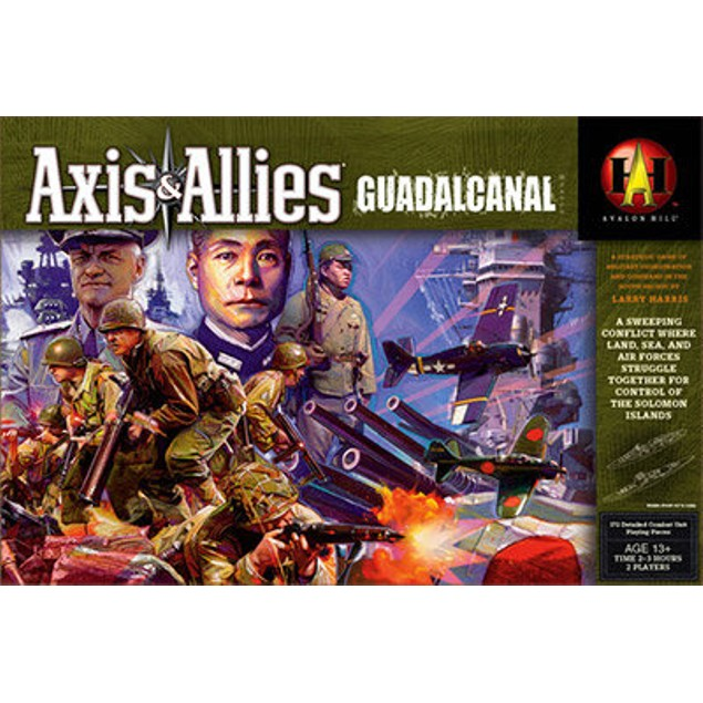 Axis and Allies: Guadalcanal the Board Game