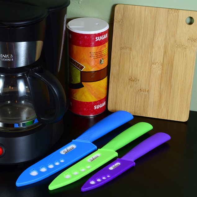 Chefware Solutions 3-Piece Ceramic Knives