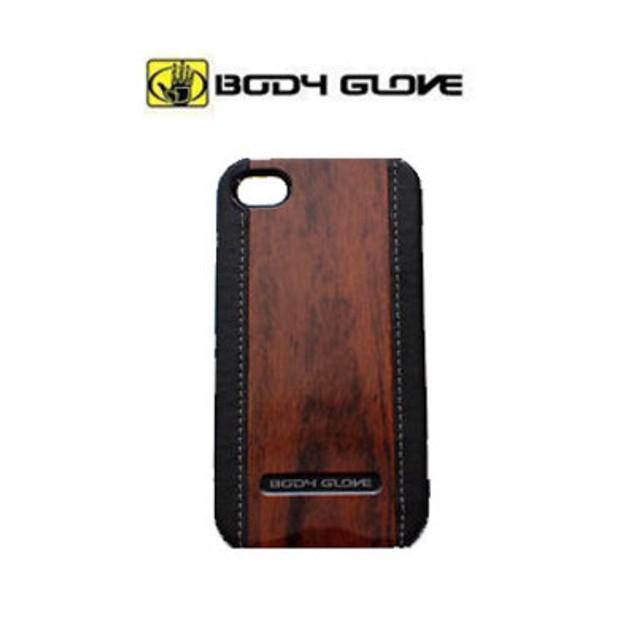 Body Glove Wood Grain iPhone 4/4s Case - Black/Wood