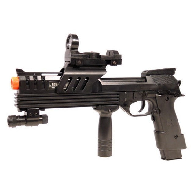 Tactical 2030A Blowback Electric Airsoft Pistol