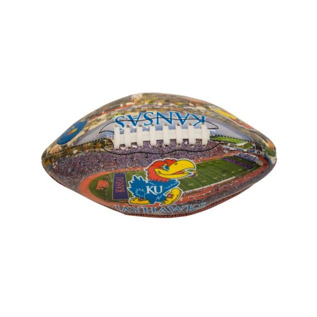 Kansas Deflated Football