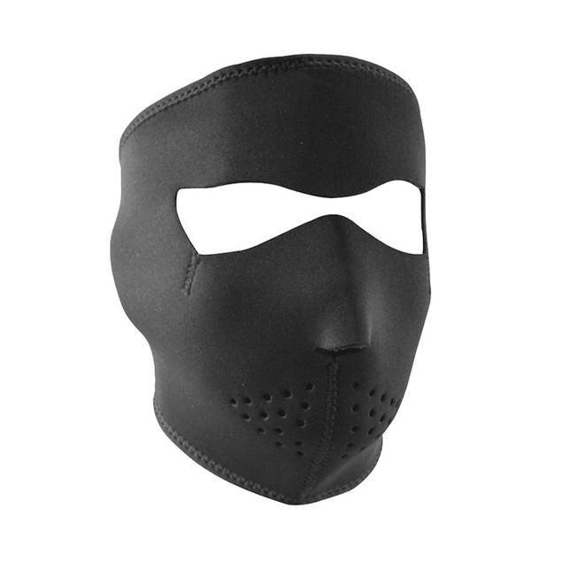 Black Neoprene Full Face Mask