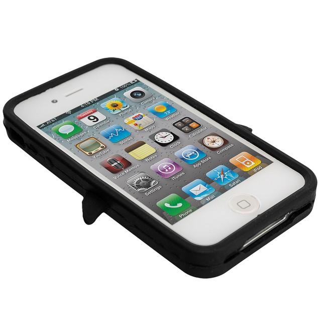 Apple iPhone 4 Silicone Design Soft Skin Case Cover