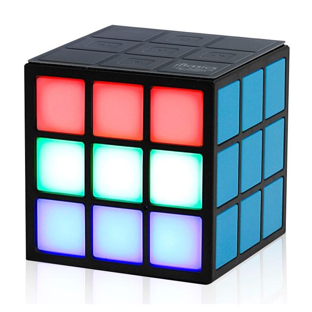 iBasics Rubik's Cube Inspired Bluetooth Speaker