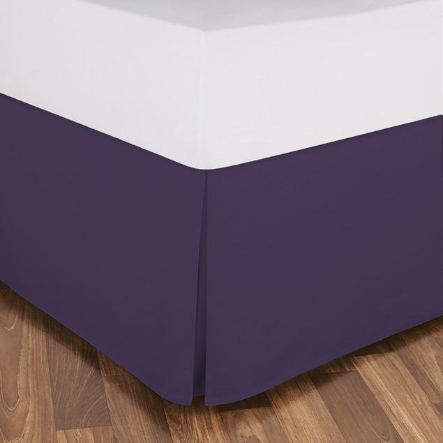 """Becky Cameron 14"""" Drop Luxury Pleated Bed Skirt"""
