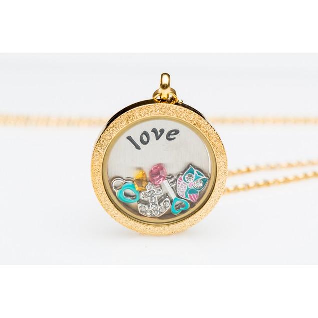 Customized Floating Charm Locket Necklaces