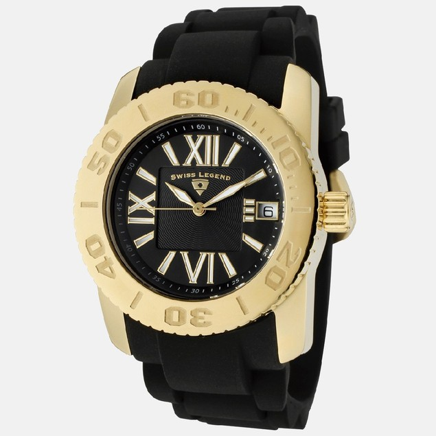 Swiss Legend Women's Watch - Gold Tone Commander