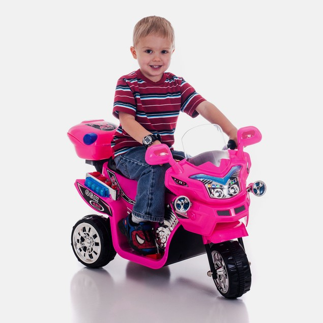 Lil' Rider 3 Wheel Battery Powered Bike - Pink