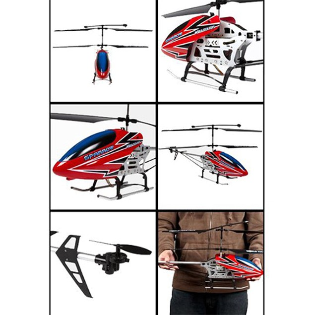 GYRO Metal Sparrow 3.5CH Electric RTF RC Helicopter
