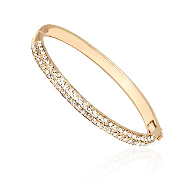Swarovski Elements Crystal Bangle Bracelet