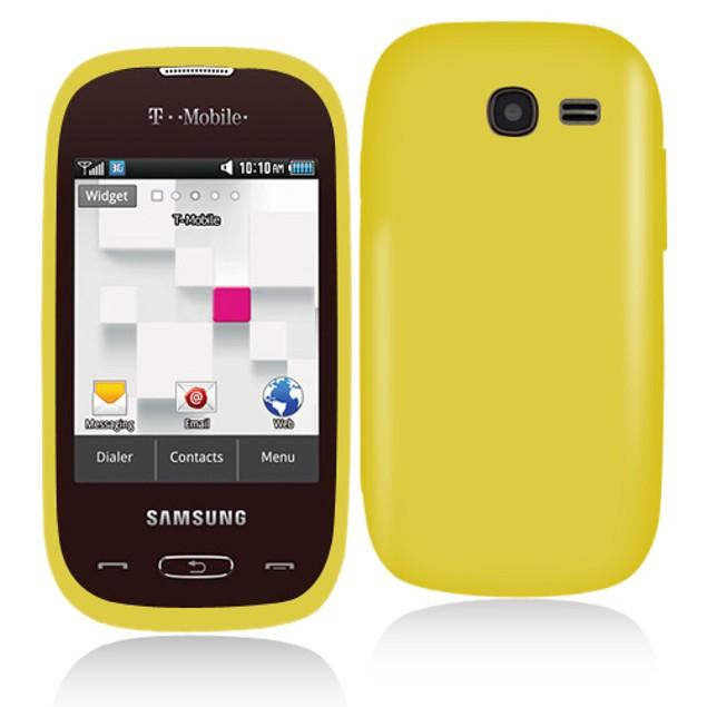 Samsung Gravity Q T289 Hard Rubberized Case Cover
