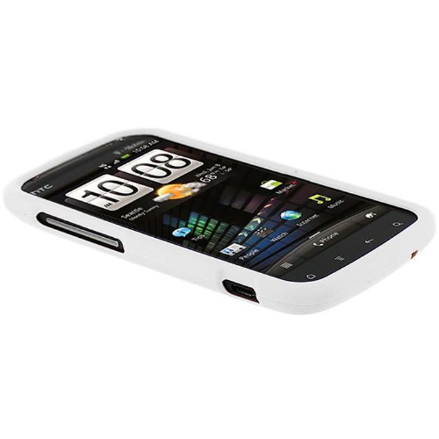 HTC Sensation 4G Hard Rubberized Case Cover