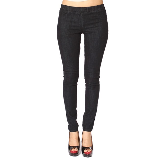 Classic Stretch Denim Ankle-Length Jeggings