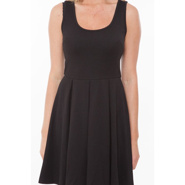 White Mark Women's Fit-and-Flare Dress