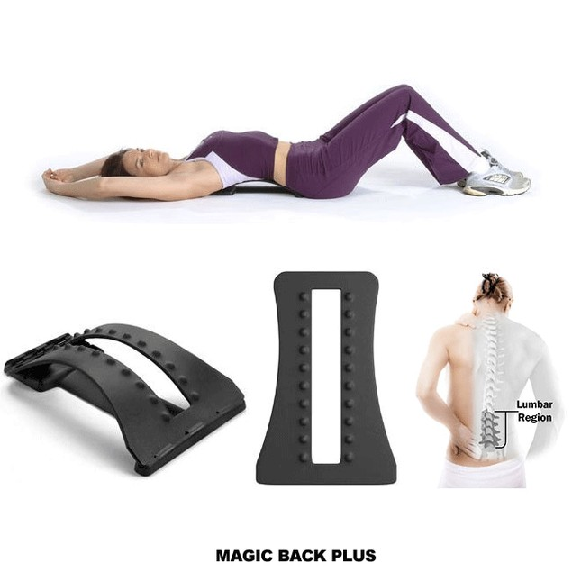 Magic Back Adjustable Stretching Device
