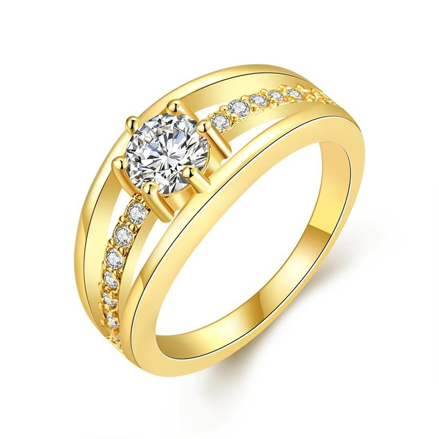 Gold Plated Simple & Sophisticated Ring