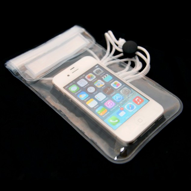 2-Pack Waterproof Phone Pouches w/ Adjustable Lanyard