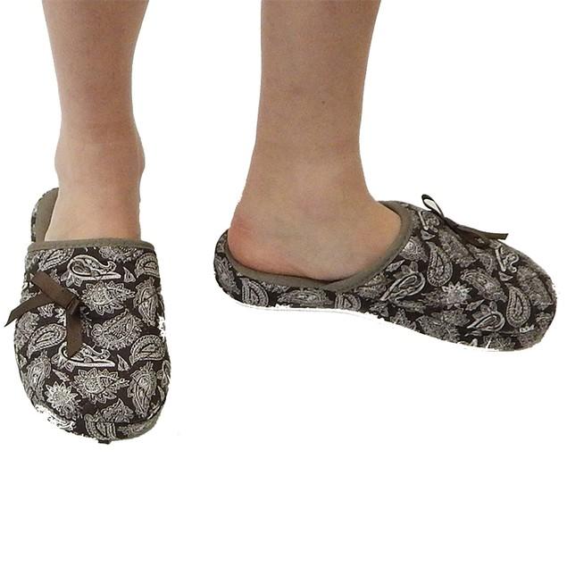 Women's Designer Paisley Slippers