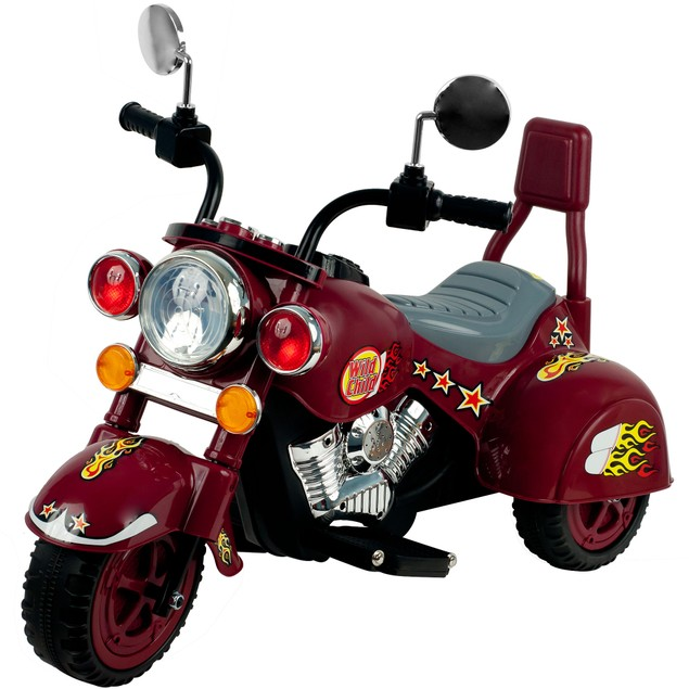 Lil' Rider Maroon Marauder Motorcycle