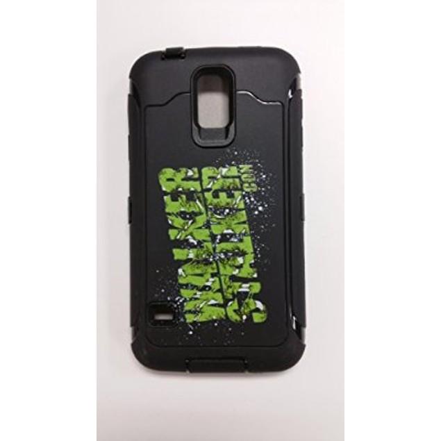 Samsung Galaxy S5 Rugged Case with Walker Stalker Con Logo