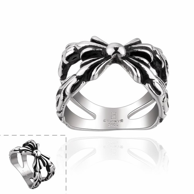Intertwined Knot Stainless Steel Ring