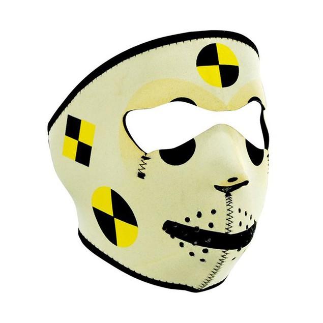 Crash Test Dummy Neoprene Full Face Mask
