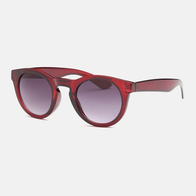 West Coast Sport Sunglasses - Round Red
