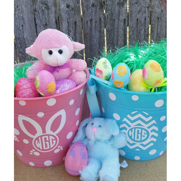 Custom Easter Basket Stickers - Choose Your Style!