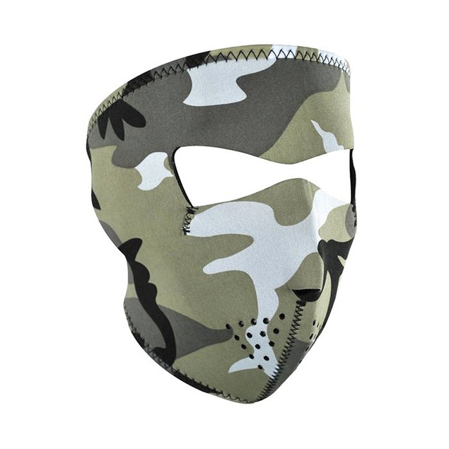 Urban Camouflage Neoprene Full Face Mask
