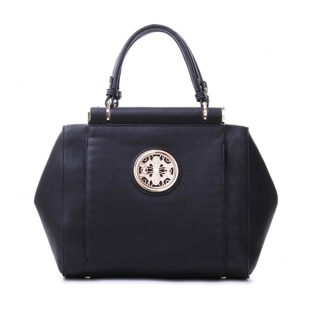 MKF Collection Vegan Leather Medallion Satchel by Mia K Farrow