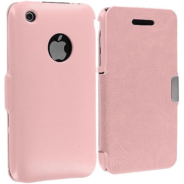 Apple iPhone 3G / 3G S Slim Wallet Magnetic Flip Case Cover