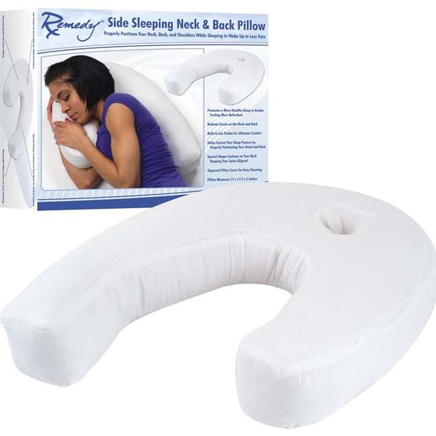 Remedy Side Sleeper Contour Pillow