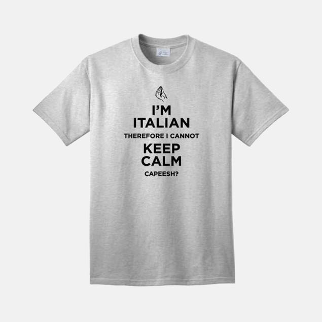I'm Italian, Cannot Keep Calm T-Shirt