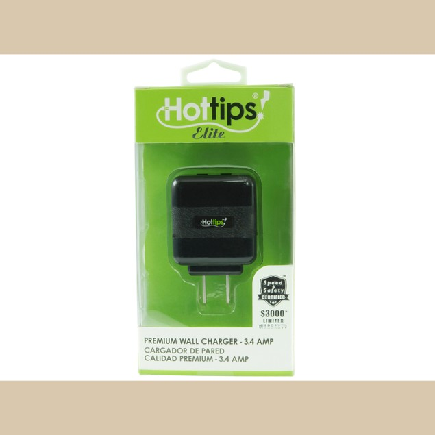 Hottips Elite 3.4A Premium Wall Charger