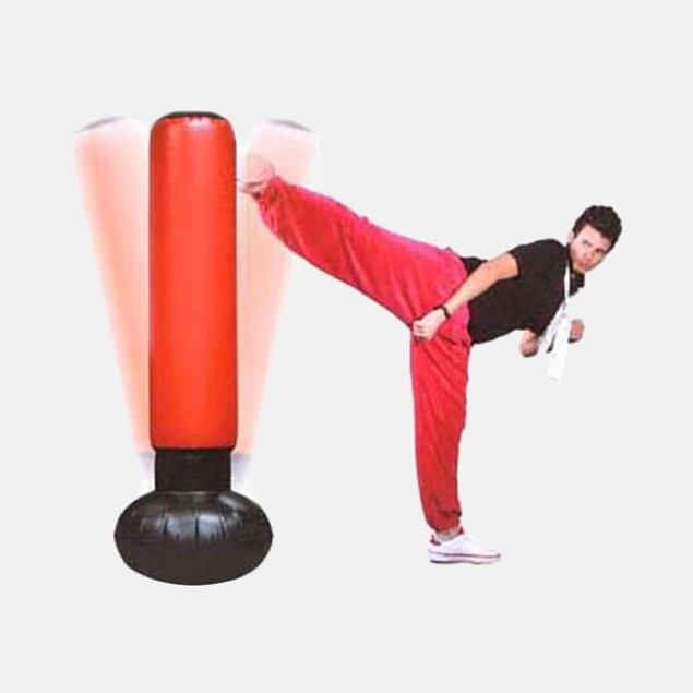 """FineLife 63"""" Punching Tower w EZ Inflate Foot Pump"""