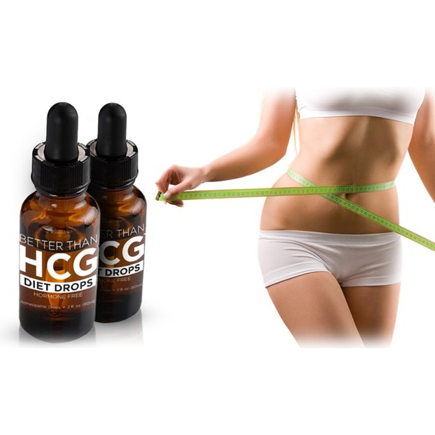 Better Than HCG Diet Drops (2 Fl. Oz. Bottles)