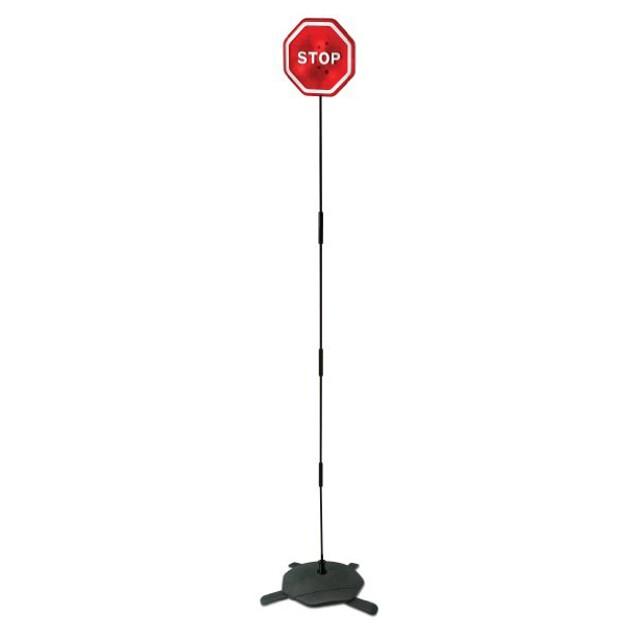 Flashing LED Light Parking Stop Sign For Garage