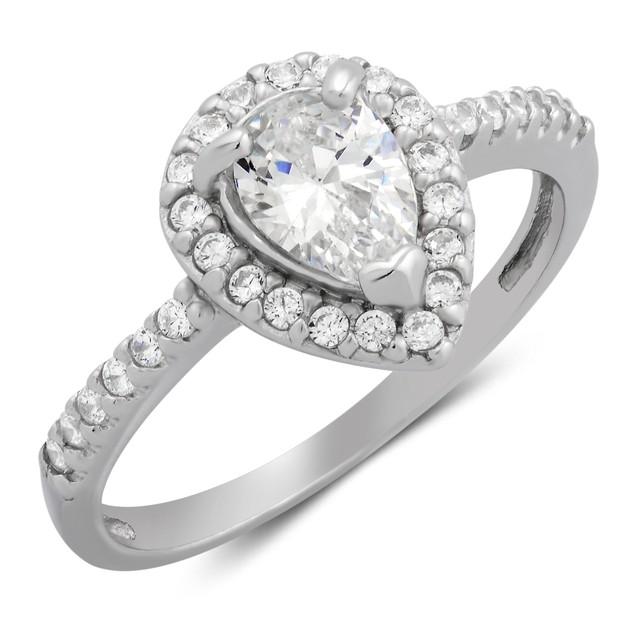 Pearshape Ring