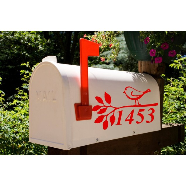 Vinyl Mailbox Decal Design 33