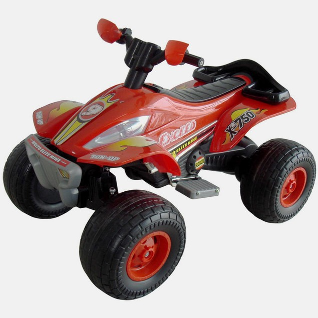 Lil' Rider X-750 Exceed Speed Battery Operated ATV